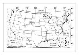 Usa Latitude Map by Usa Latitude Map Pictures To Pin On Pinterest Pinsdaddy