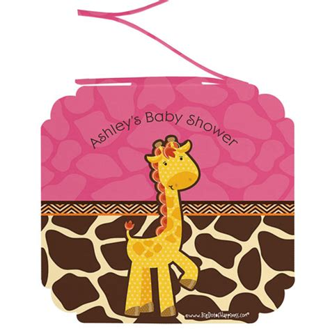 Personalized Baby Shower Decorations by Giraffe 6 Baby Shower Hanging Decorations Baby