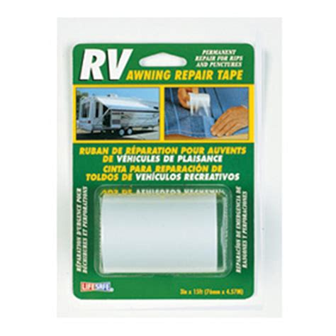 rv awning repair life safe 174 awning repair tape 158214 rv awnings at sportsman s guide