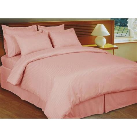 cal king bed sheets 600tc pink stripe bed in a bag 8pc cal king