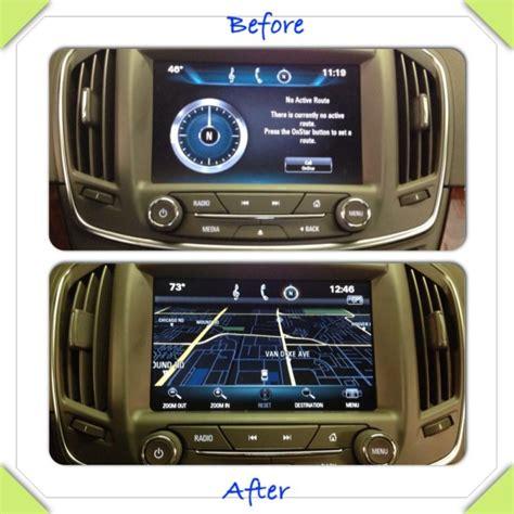 update gmc navigation system 2014 2015 buick factory navigation system