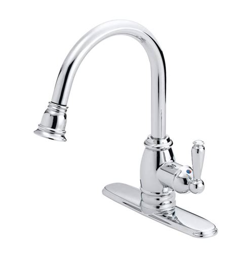 luxury kitchen faucet flo control faucets fp4a5008cp pull down designer kitchen faucet at sutherlands