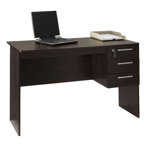 Home Office Desks Officeworks Watson Desk Chocolate Ebay