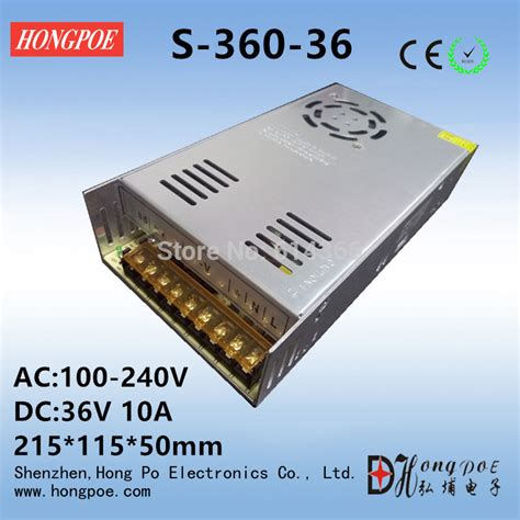 36v 10a 360w Power Supply Switching 1 best quality 36v 10a 360w switching power supply driver for cctv led ac 100 240v