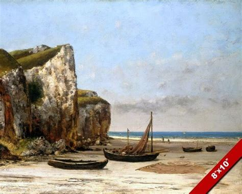 boats for sale france ebay normandy france beach shore w small boats painting art