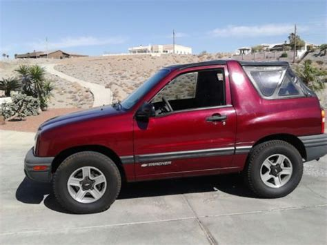 automobile air conditioning repair 2003 chevrolet tracker on board diagnostic system find used 2002 chevy geo tracker 5 speed 4x4 new top tow bar a c ps pb 113 k miles in lake