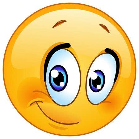 Bashful Smiley | Symbols & Emoticons Emoticons Smile