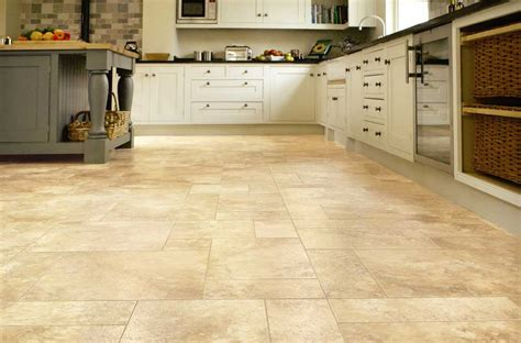 tile ideas for kitchen floors kitchen vinyl effect flooring tiles planks karndean