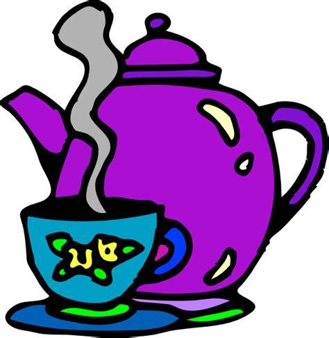 tea clipart tea kettle and cup clip at clker vector clip