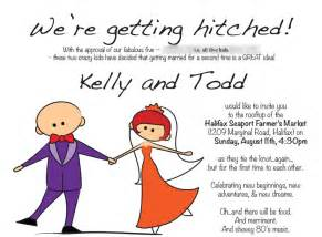 humorous informal wedding invitation wording from and groom wedding structurewedding structure