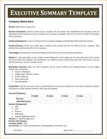 Sample Executive Summary Of A Report 14 Executive Summary Format Example Incident Report Template