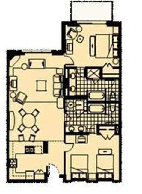 marriott grande vista 3 bedroom floor plan large living room areas are featured in all two and three