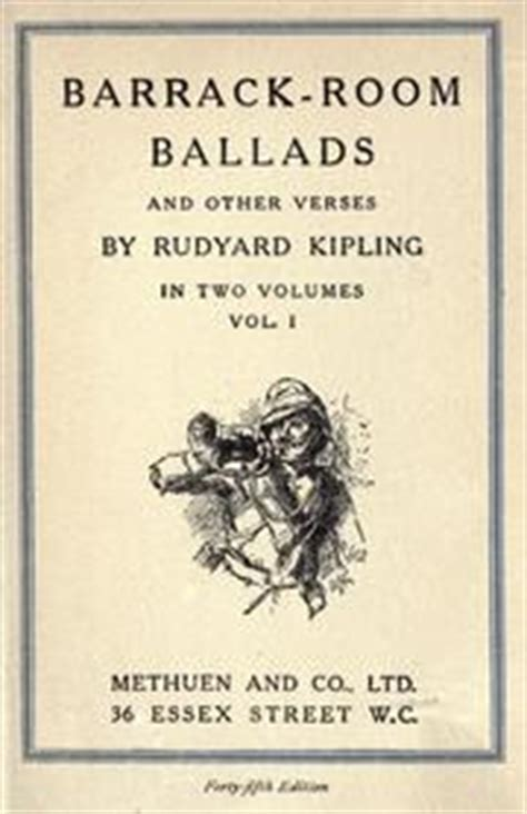 barrack room ballads barrack room ballads and other verses 1916 edition open library
