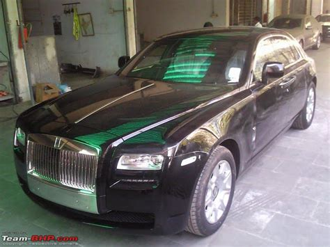 roll royce delhi rolls royce ghost in mumbai team bhp