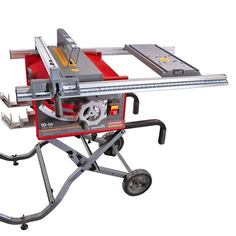 Table Saw Sears by Craftsman 15 10 Quot Portable Table Saw 21829