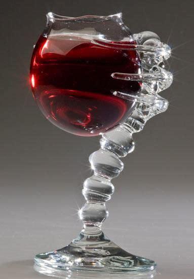 cool wine glasses making wine glasses the conversation piece unique