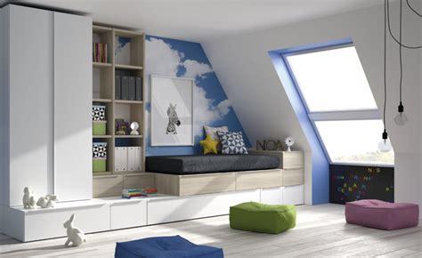 decorar dormitorio en buhardilla dormitorio juvenil para buhardilla muebles xikara