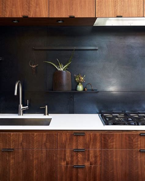 Black Backsplash Kitchen Best 25 Black Backsplash Ideas On Pinterest Kitchen