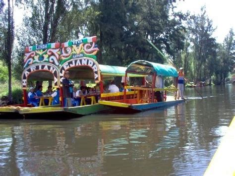The Floating Gardens Of Xochimilco by Floating Gardens Of Xochimilco Picture Of Floating