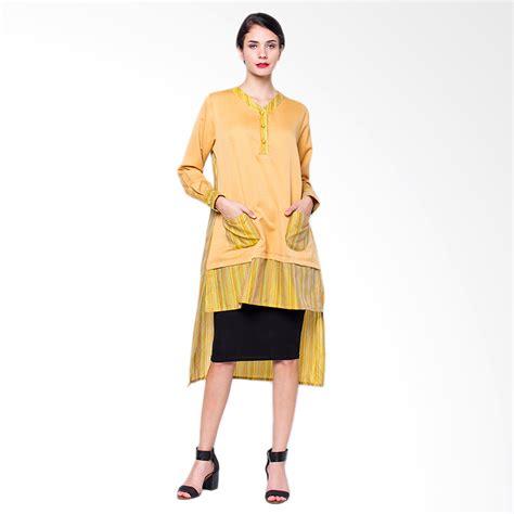 Chic Punguin Tunik By Sancaka jual tunik lurik penguin atasan wanita yellow harga kualitas terjamin blibli