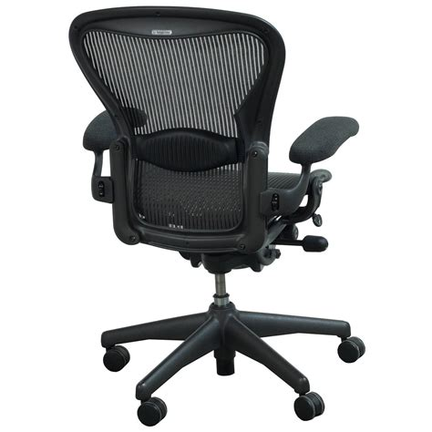 herman miller aeron  full function size  task chair lead classic national office