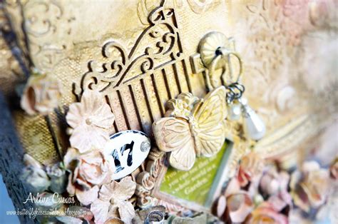 graphic 45 secret garden mixed media altered matchbook butterfly kisses paper pretties discount paper crafts