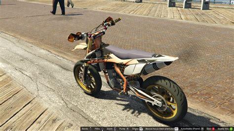 Ktm Pit Bikes Gta 5 Ktm Pit Bike Mod Gtainside