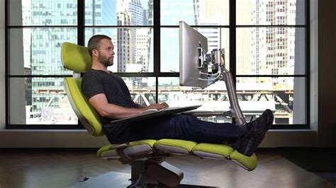 lay down desk chair the 5 900 chair that lets you lay down on the job