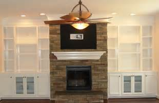 built in wall shelves around fireplace home design ideas