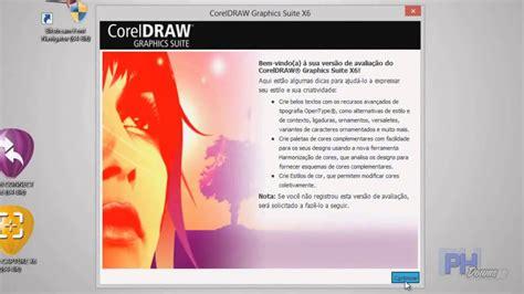 corel draw x6 baixar coreldraw x6 baixar instalar e ativar completo youtube