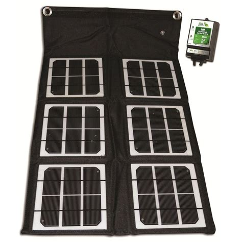 nature power 18 watt folding solar panel with 8 charge