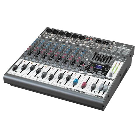 Mixer Audio Beringer behringer xenyx 1222fx analogue mixer