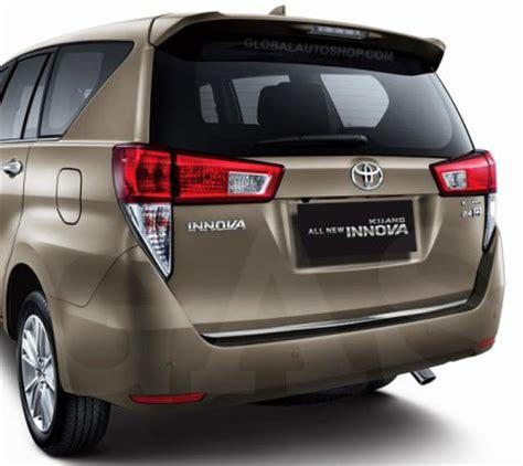 Toyota All New Innova Trunk Lid Chrome Jsl List Bagasi Belakang toyota kijang innova rear chrome trunk lid trim rear