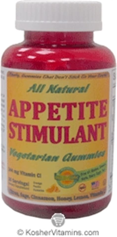 Stimulants Also Search For Appetite Stimulants
