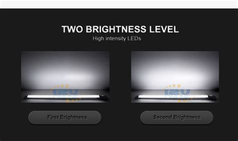 """LED 12V 11.81"""" Switched Under Cabinet Light Bar RV"""