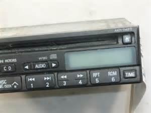 Mitsubishi Galant 2000 Radio Code Radio Mitsubishi Diamante Galant Montero 2001 2002 W