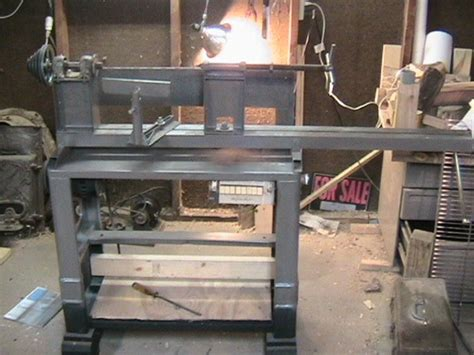 homemade lathe woodworking talk woodworkers forum