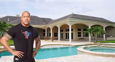 dwayne the rock johnson house www pixshark images