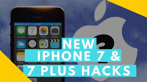 20 iphone 7 7 plus hacks without jailbreak ios 10 and above