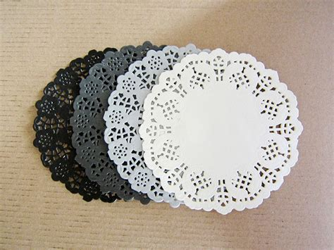 paper lace doilies crafts mixed colors 4 5 quot hollowed lace paper doilies crafts for