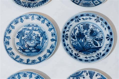part of our collection of antique blue and white dutch delft dishes and chargers at 1stdibs