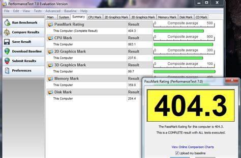 bench mark software passmark benchmarking software aoa forums