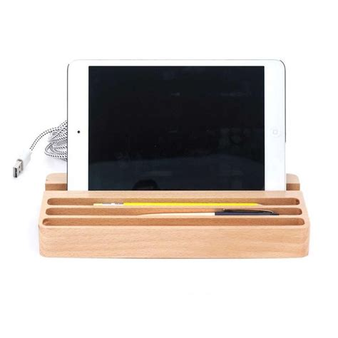 Desk With Charging Station by Wood Charging Station Desk Organiser With 2 Usb Ports Usb Woods And Charging Stations