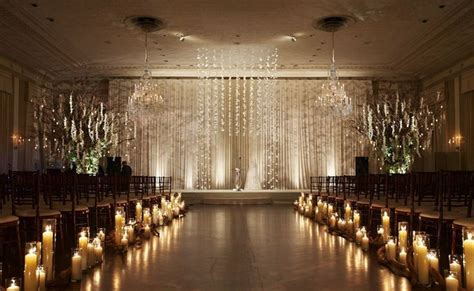 Cheap Wedding Ceremony Decorations by Top 11 Indoor Light Aisle Designs Cheap Unique