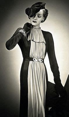 1930s fashion women s dress and hairstyles glamourdaze 90 best images about vintage dresses on pinterest day