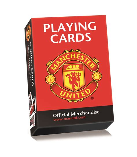 United Gift Card - official manchester united football soccer club playing activity cards ebay