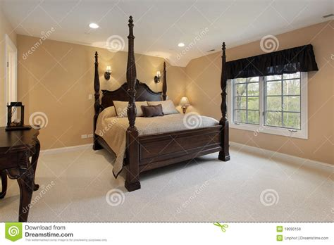 gold bedroom walls master bedroom with gold walls royalty free stock image