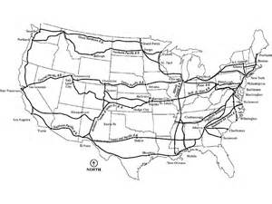 map of railroads american railroads