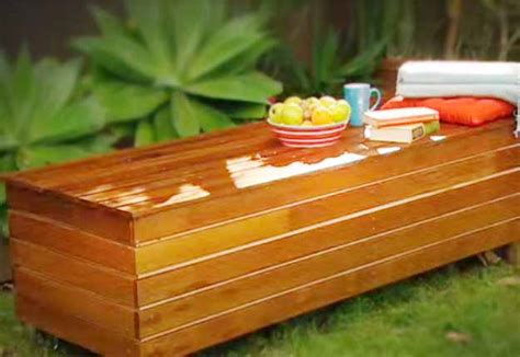 diy outdoor storage bench seat diy outdoor storage bench tutorial