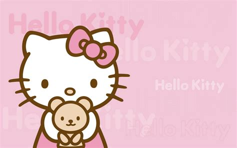 wallpaper biru imut wallpaper hello kitty imut dan lucu